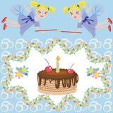 Alles Gute zum Geburtstag vektor abbildung