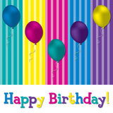 Alles Gute zum Geburtstag! stock abbildung