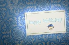 Alles Gute zum Geburtstag Lizenzfreies Stockfoto
