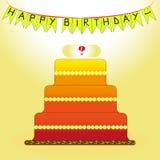 Alles Gute zum Geburtstag: stock abbildung