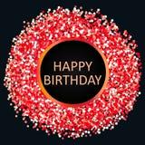 Alles Gute zum Geburtstag der Grußkarte Lizenzfreie Stockfotografie