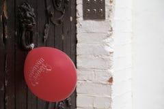 Alles Gute zum Geburtstag des Luftballons Lizenzfreie Stockfotografie
