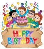 Alles Gute zum Geburtstag thematics Bild 6 Lizenzfreie Stockbilder