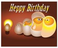 Alles Gute zum Geburtstag Vektorillustration für Ihre Feiertagsdarstellung Lizenzfreies Stockbild