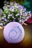 Alles- Gute zum Geburtstagballon Stockbild