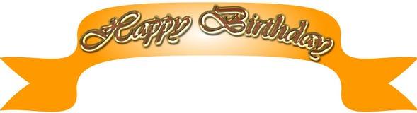 Alles Gute zum Geburtstagfahne Lizenzfreie Stockfotos