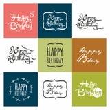 Alles- Gute zum Geburtstagfeieraufschrift Stockfotografie