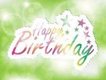 Alles- Gute zum Geburtstaghintergrund. vektor abbildung