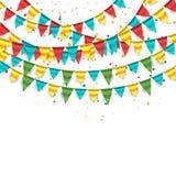 Alles Gute zum Geburtstaghintergrund Stockbild