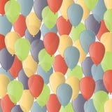 Alles- Gute zum Geburtstaghintergrund der Vektorillustration Lizenzfreie Stockfotografie