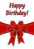 Alles Gute zum Geburtstagkarte Stockfoto