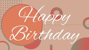 Alles Gute zum Geburtstagtext vektor abbildung