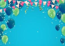 Alles- Gute zum Geburtstagtypographievektordesign für Grußkarten und p vektor abbildung