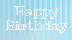 Alles- Gute zum Geburtstagw?nsche lizenzfreie abbildung