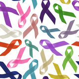 Alles Krebswelttagesband-Hintergrundmuster vektor abbildung