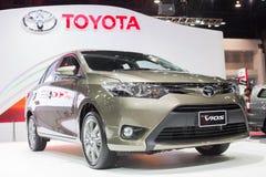 Alles neue Toyota-viso an der 30. internationalen Bewegungsausstellung Thailands am 3. Dezember 2013 in Bangkok, Thailand lizenzfreies stockfoto