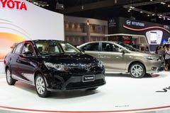 Alles neue Toyota-viso an der 30. internationalen Bewegungsausstellung Thailands am 3. Dezember 2013 in Bangkok, Thailand stockfotos