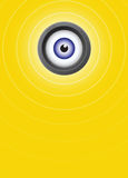 Alles sehende Auge Stockfotografie