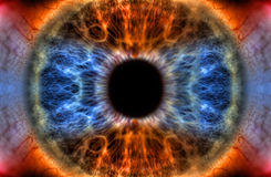 Alles sehende Auge Stockfotos