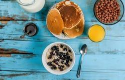Alles u vereist voor continentaal ontbijt Royalty-vrije Stock Afbeelding