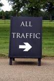 Alles Verkehrszeichen Stockfotos