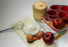 Alles voor appeltaart Royalty-vrije Stock Foto