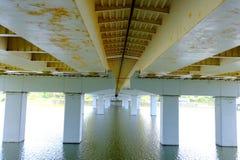 Allestädes närvarande olika broar royaltyfri foto
