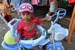 Allevare i bambini Fotografia Stock