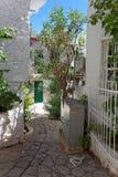Alleway in Marmaris, Turkey Royalty Free Stock Images