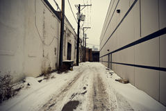 Alley Royalty Free Stock Photos
