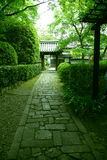 An alley. In Japan,Kyoto royalty free stock photo