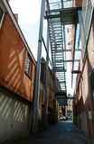 Alley. Stock Photo