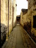 Alley. In FengJing ancient town Royalty Free Stock Images