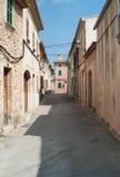 Alley in Alcúdia on Mallorca island Royalty Free Stock Photo