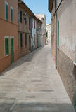 Alley in Alcúdia on Mallorca island Royalty Free Stock Images