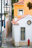 Alley Alfama Royalty Free Stock Photo