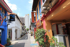Alley. An alley in Arab street, Singapore Stock Image