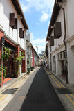 Alley. An alley in Arab street, Singapore Stock Photos
