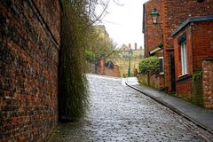 Alley, Architecture, Buildings stock photo