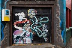 Ολυμπία Alley Art Στοκ Εικόνα