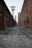 An alley in Baltimore. An alley in the Fells Point neighborhood of Baltimore Stock Photography