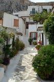 Alley below Acropolis Royalty Free Stock Photo