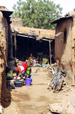 An alley in Bobo-Dioulasso Royalty Free Stock Image