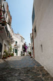 Alley Cadaques Catalonia Spain Royalty Free Stock Photo