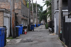 Alley in Chicago Stock Image