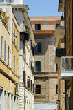 Alley in Civitavecchia Stock Image