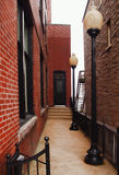 Alley in Clayton, New York Royalty Free Stock Photography