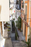 Alley country, Calabria, Italy Stock Photography