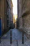 Alley in Edinburgh Stock Photography