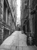 Alley in Edinburgh Royalty Free Stock Image